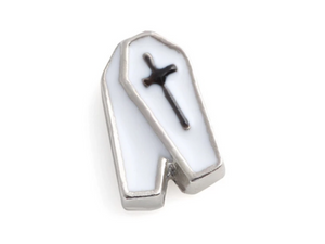 Coffin Floating Charm