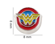 Wonder Woman Floating Charm