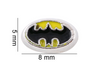 Batman Floating Charm