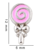 Lollipop Floating Charm