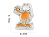 Garfield Floating Charm