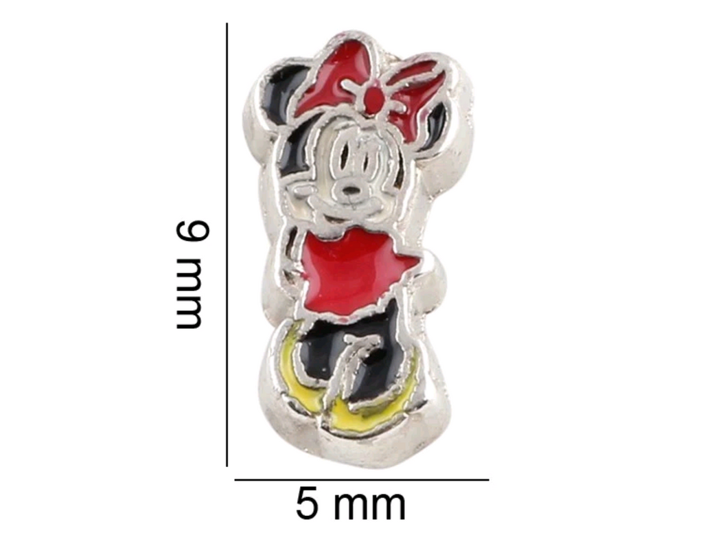 Minnie Mouse Floating Charm