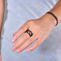 Tattoo Bracelet & Ring Combo