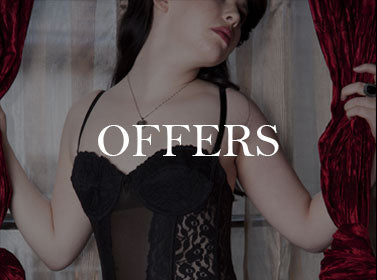 View our current Offers on Retro, Vintage and Boutique Lingerie