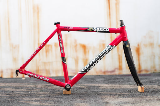 Cannondale Six13 Team Saeco (Replica Red) Frameset
