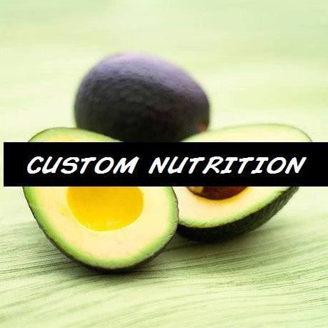 Custom Nutrition Plan