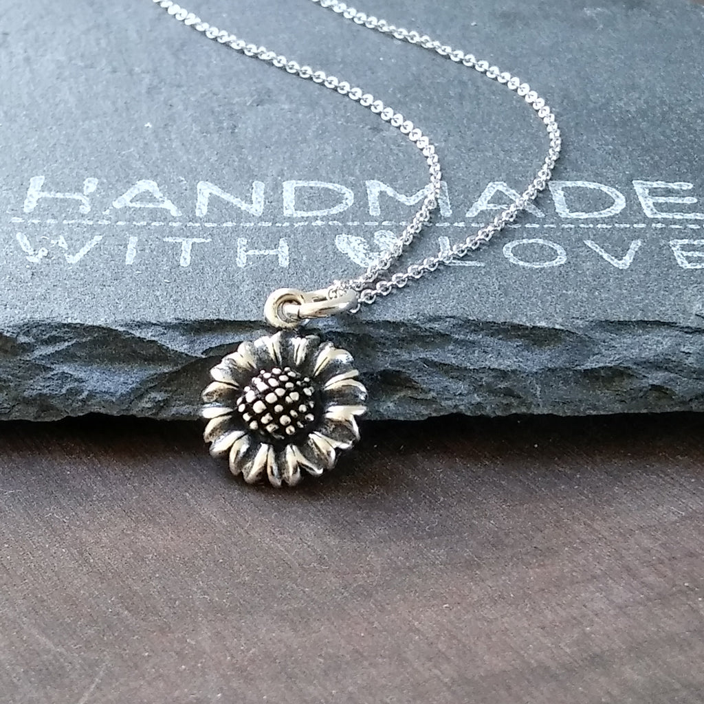 Sunflower Necklace-1276 - Kevin N Anna