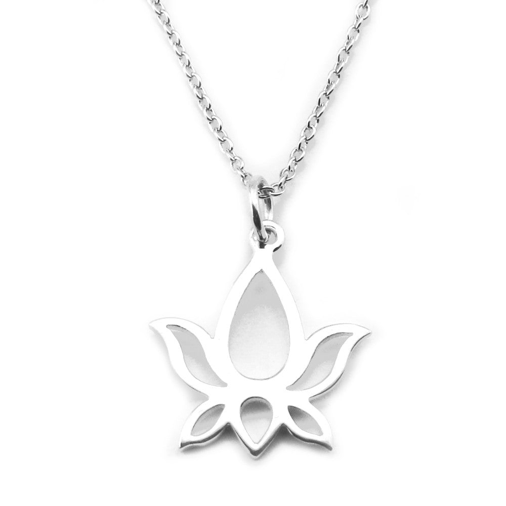 Lotus Necklace-1464