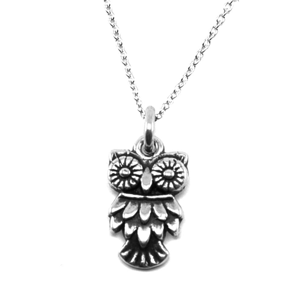 Owl Necklace-1479