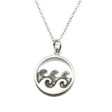 Ocean Waves Necklace-1640 - Kevin N Anna