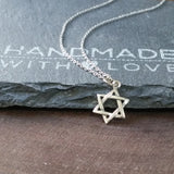 STAR OF DAVID Necklace-1815 - Kevin N Anna