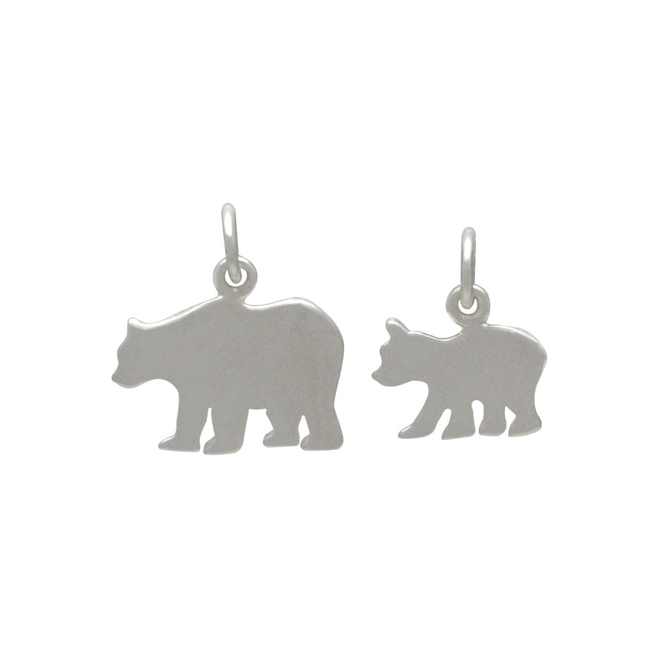Mama and Baby Bear Charm Set-1842