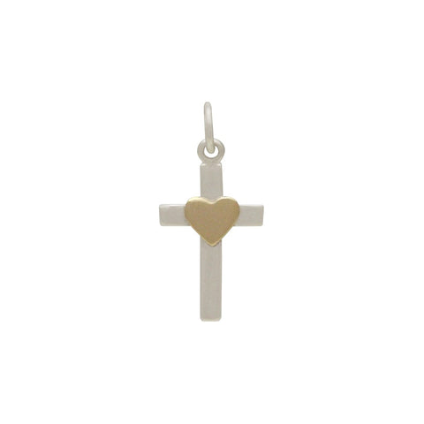 Bear Charm with Bronze Star and Moon-6084