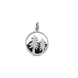 Tree and Mountain Charm-Small-3348026 - Kevin N Anna