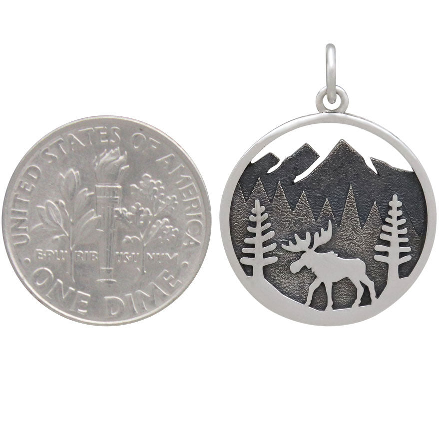 Moose Charm in Mountain Meadow-4154