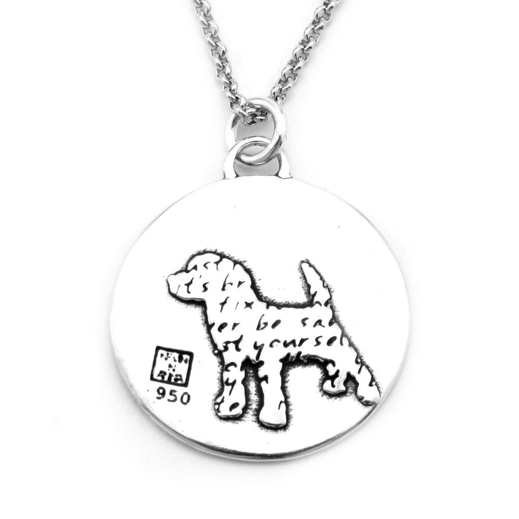 Dog Necklace (Trust)-D33 - Kevin N Anna