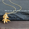 Goldfish Necklace-585G - Kevin N Anna