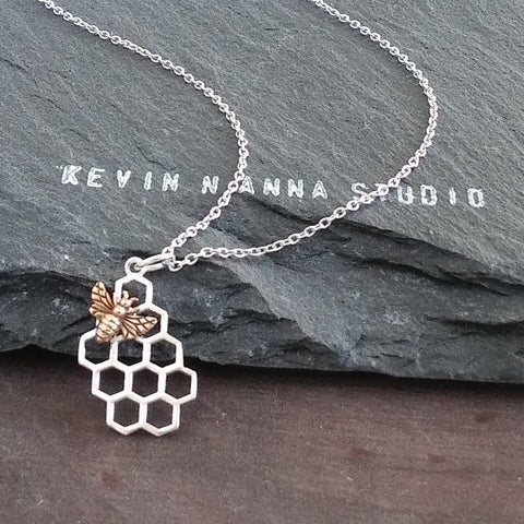 Honey Bee Necklace-C98