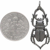 Stag Beetle Charm-6048 - Kevin N Anna