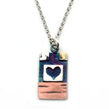 Heart Necklace-7081 - Kevin N Anna