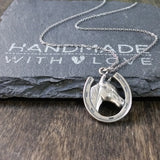 Horseshoe Necklace-C31 - Kevin N Anna