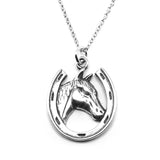 Horseshoe Necklace-72222 - Kevin N Anna