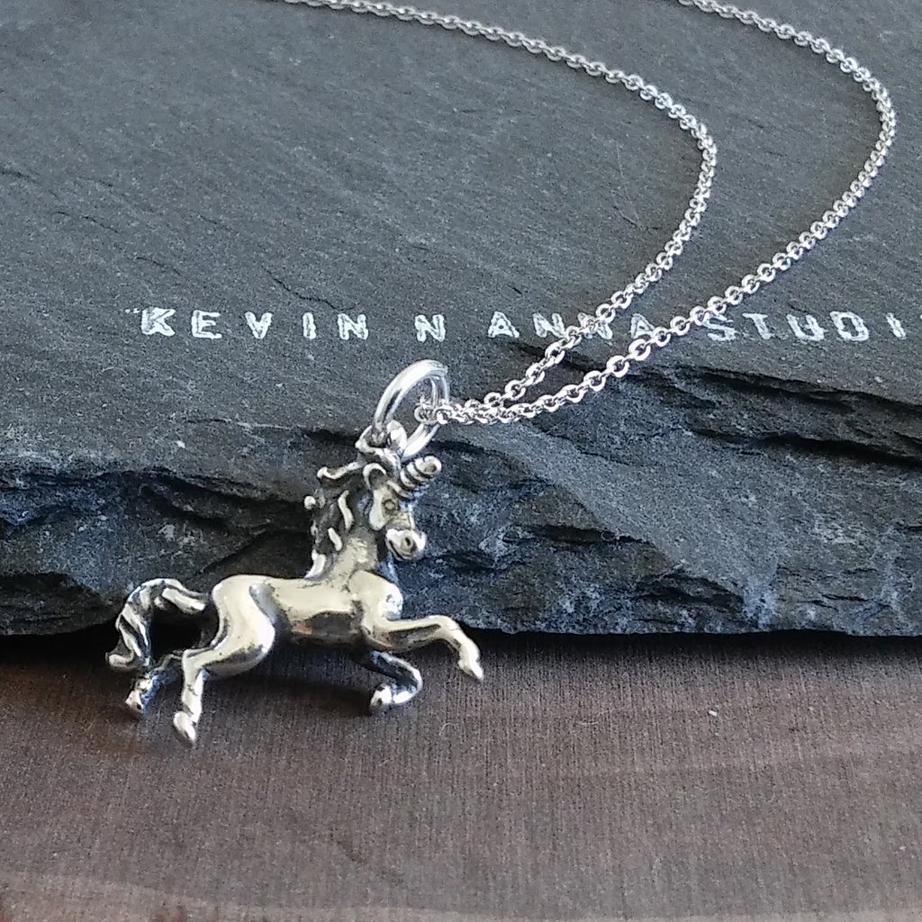 Unicorn Necklace-C29 - Kevin N Anna