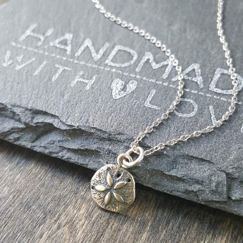 Footprints Necklace-74337