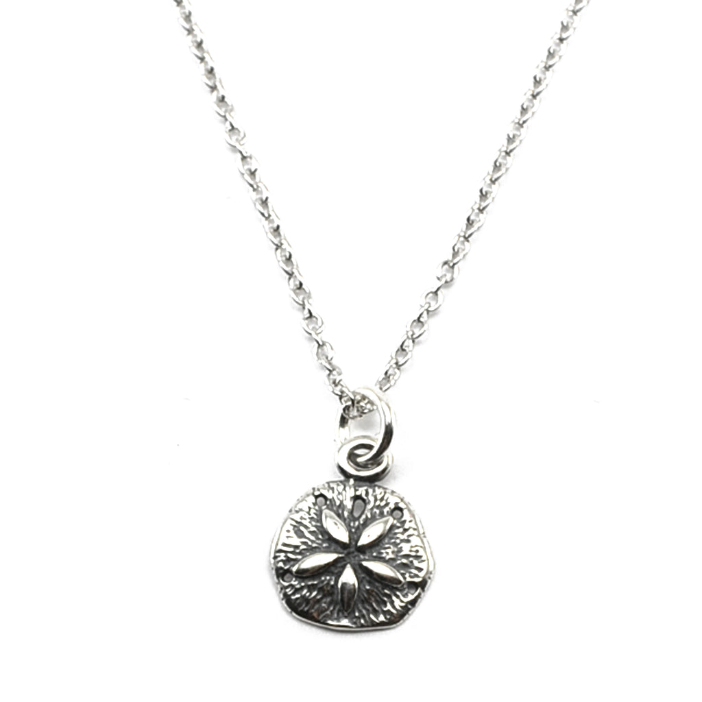 Sand Dollar Necklace-C104