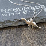 Apatosaurus Necklace-C32 - Kevin N Anna