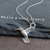 Hummingbird Necklace-73811 - Kevin N Anna