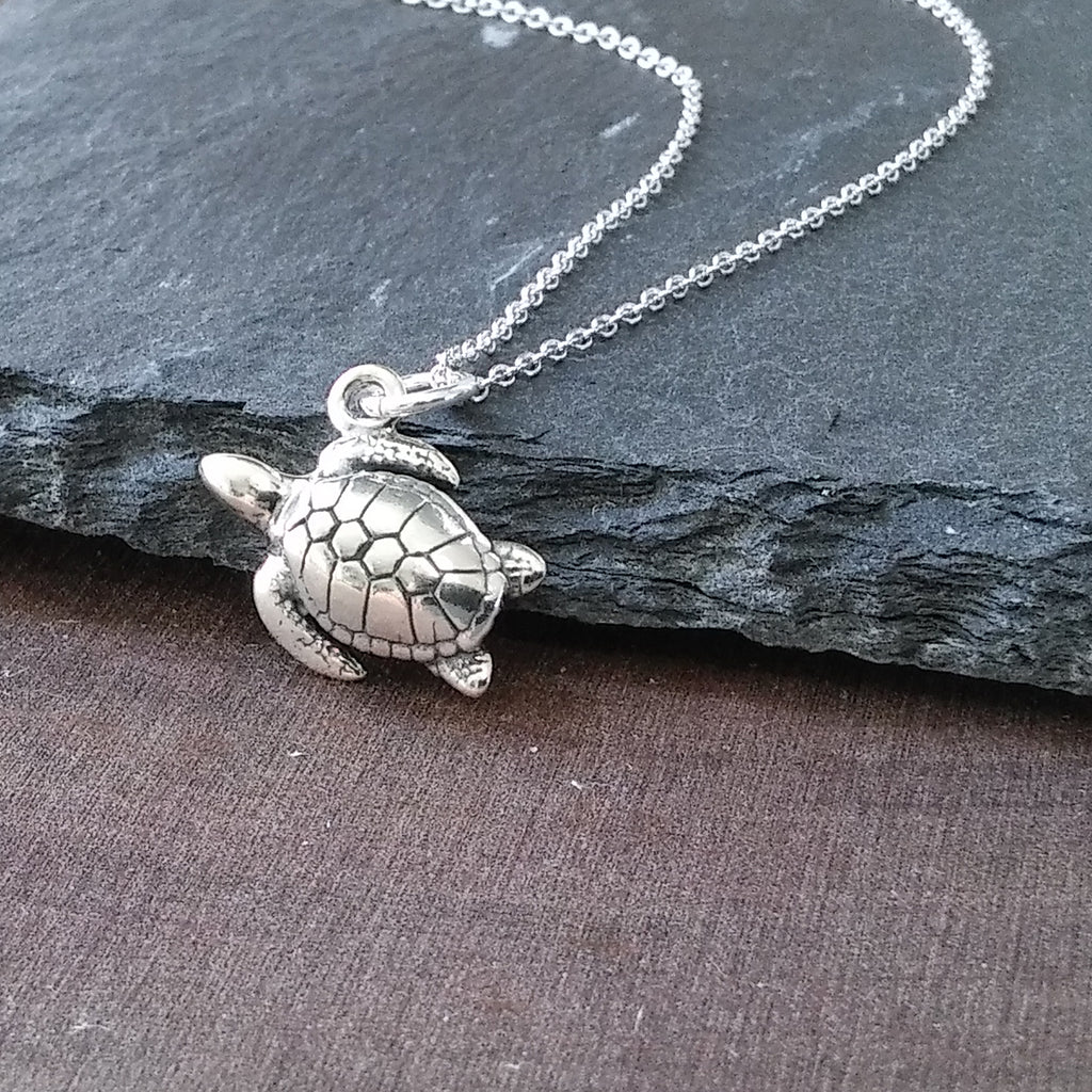Turtle Necklace-C103 - Kevin N Anna