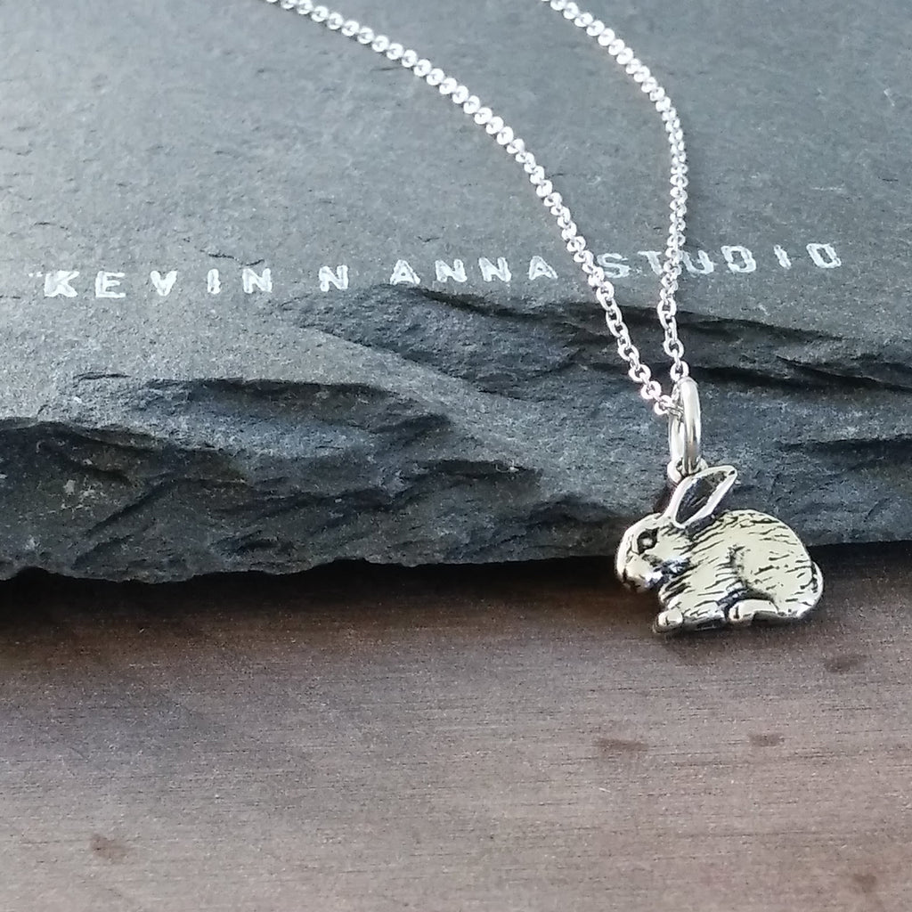 Rabbit Necklace-C37 - Kevin N Anna