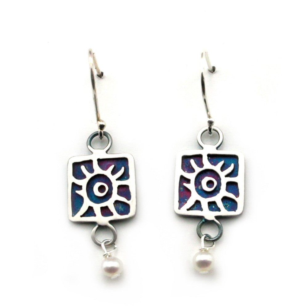 Sun Earrings-8814E - Kevin N Anna