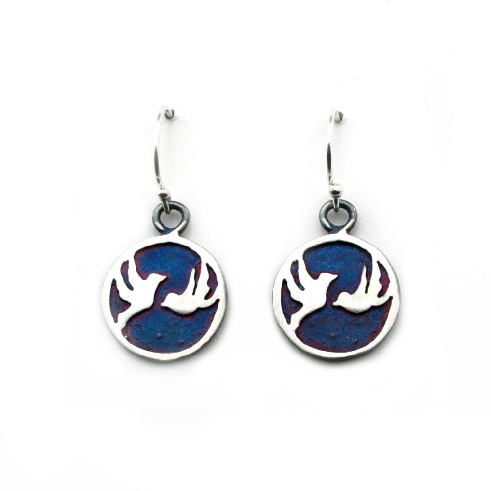 Birds Earrings-8858E - Kevin N Anna