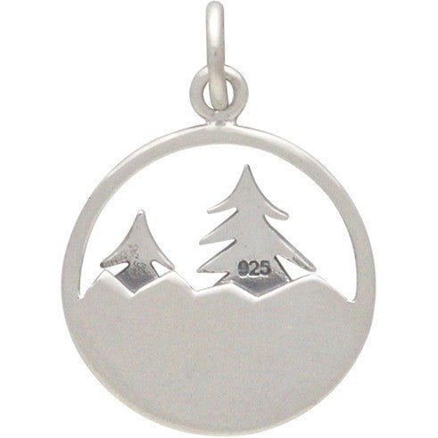 Tree and Mountain Necklace-1641 - Kevin N Anna