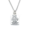 Faith Braille Necklace-B01 - Kevin N Anna