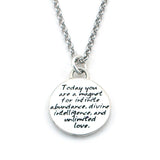 Abundance Braille Necklace-B04 - Kevin N Anna