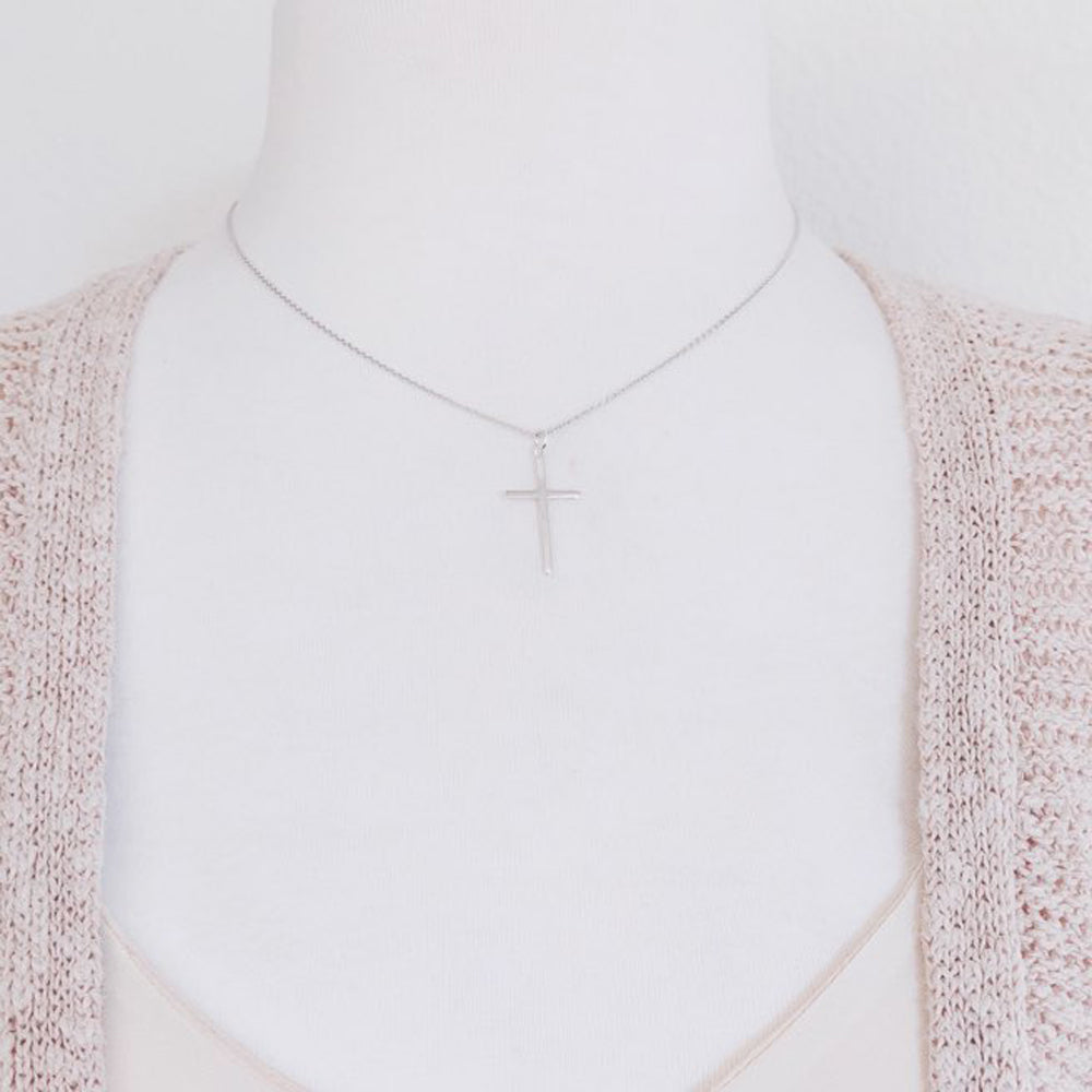 Cross Necklace-C100 - Kevin N Anna