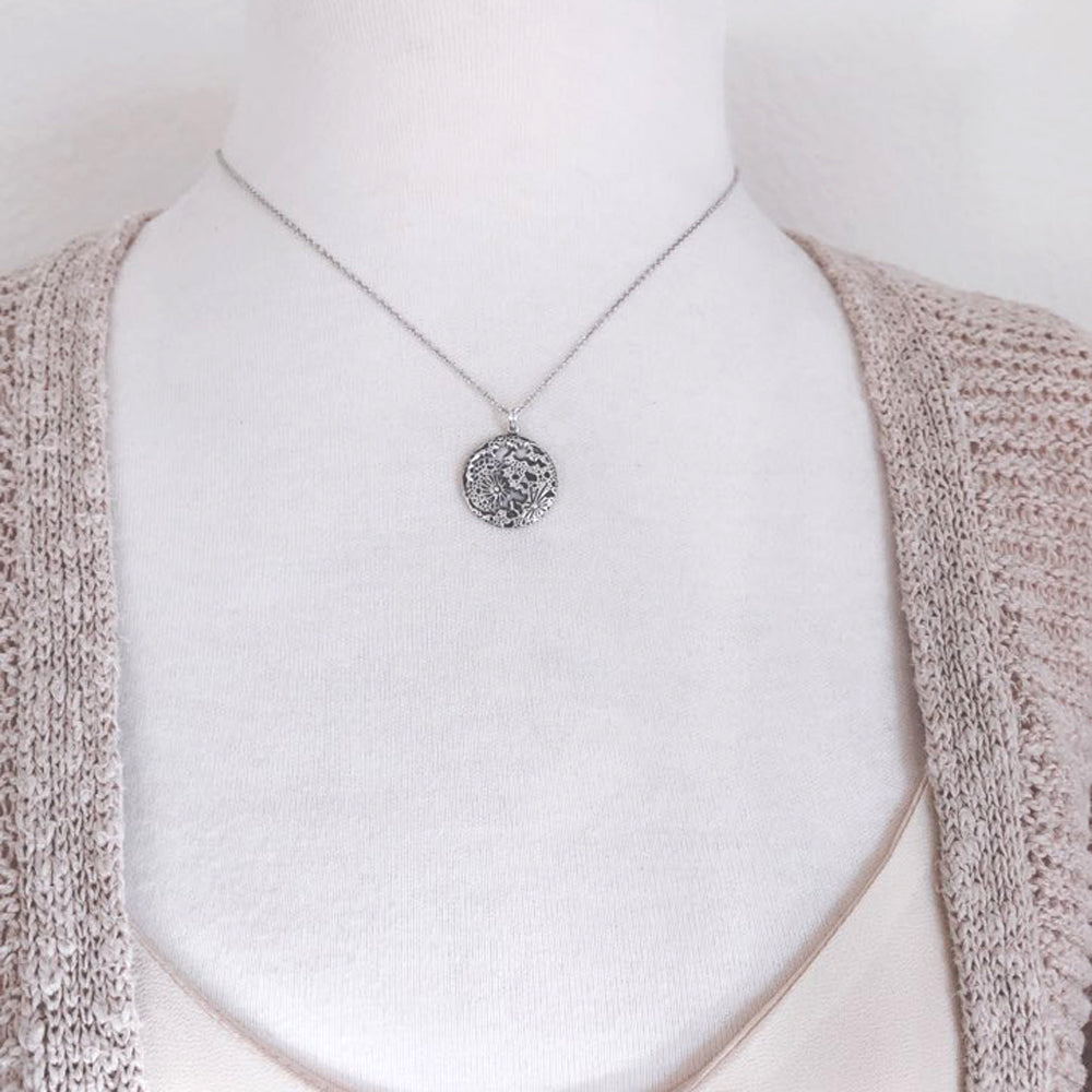 Full Moon Necklace-C101