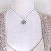 Full Moon Necklace-C101 - Kevin N Anna