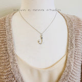 Fish Hook Necklace-C35 - Kevin N Anna
