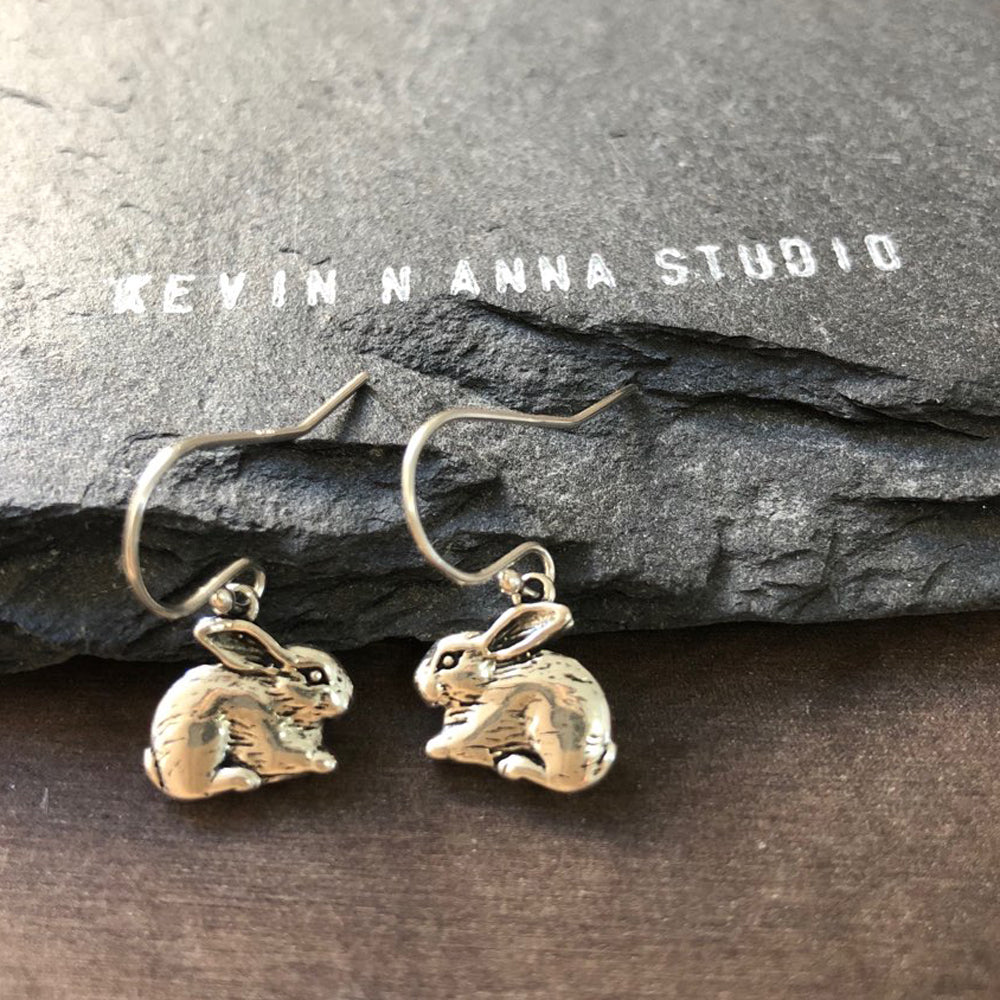 Rabbit Earrings-C37E - Kevin N Anna