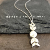 Moon Phase Necklace-C71 - Kevin N Anna