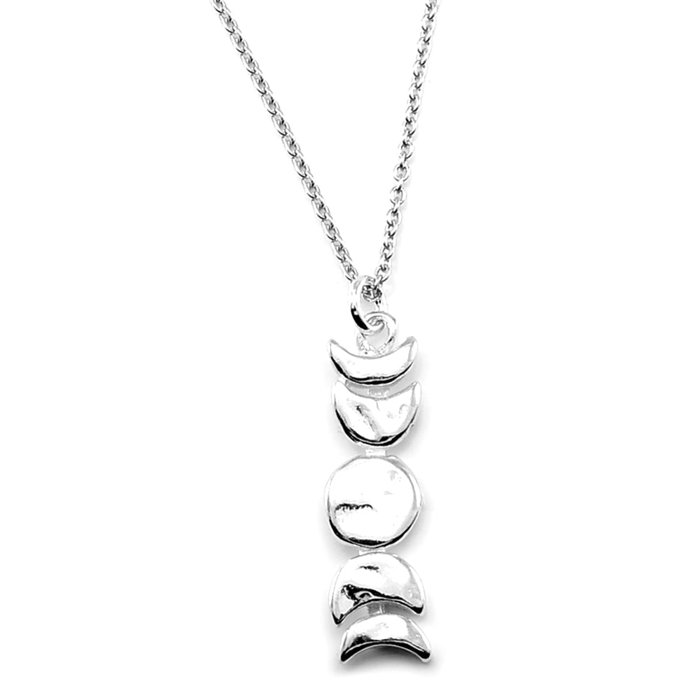 Moon Phase Necklace-SMALL-C71S
