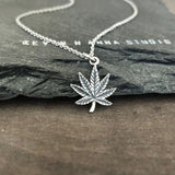 Maple leaf necklace-C94 - Kevin N Anna