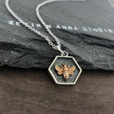 Honey Bee Necklace-C98 - Kevin N Anna