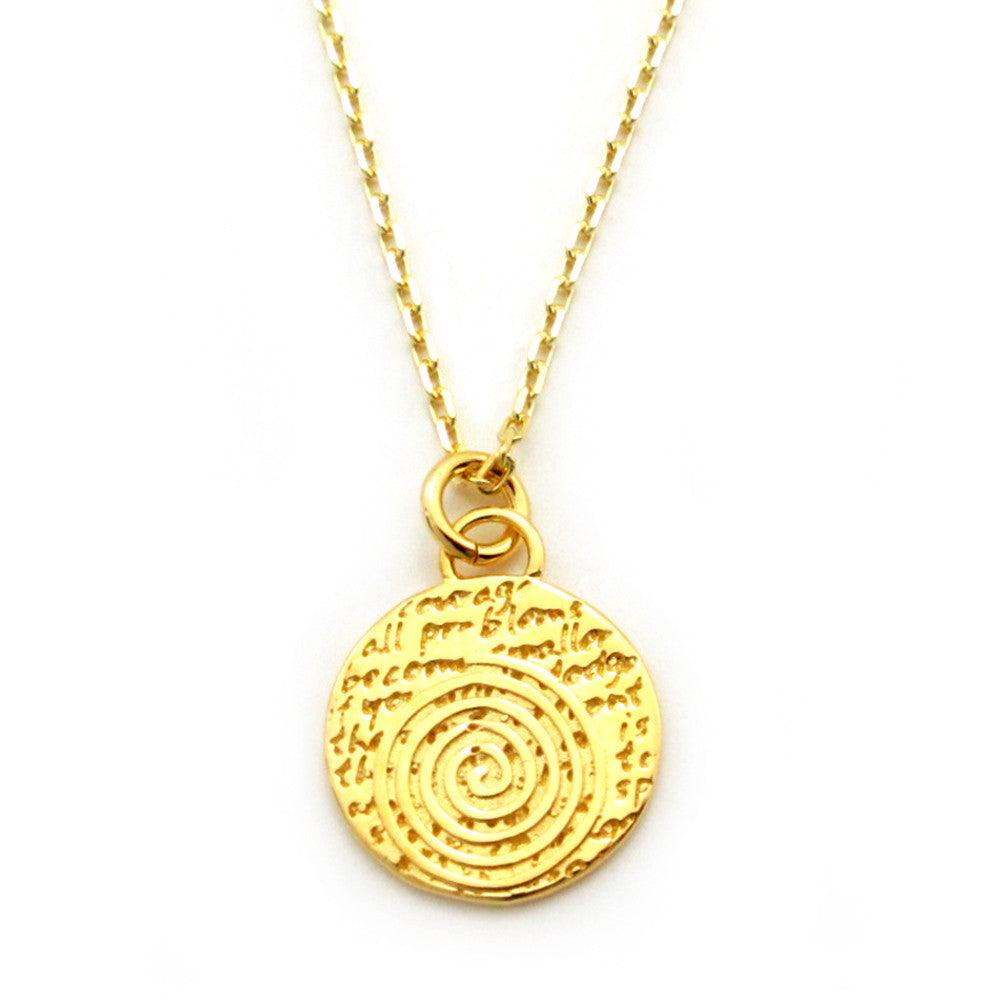 Spiral Necklace (Courage)-D09SMG - Kevin N Anna