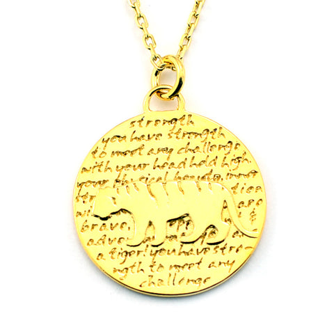 Taurus Necklace (Faith)-D98G