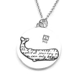 Whale Necklace (Journey)-D111 - Kevin N Anna